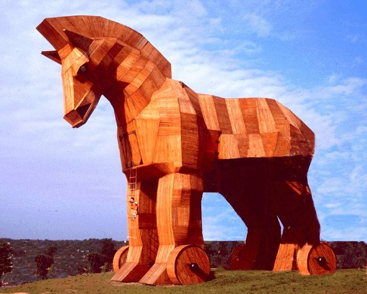 Lithuania Trojan Horse Packed